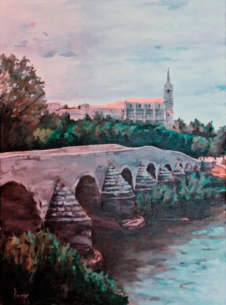 Lerma. Puente viejo y colegiata